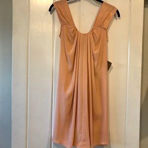 NEW! Ali Ro peach silk dress